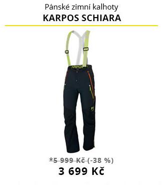 Kalhoty Karpos Schiara