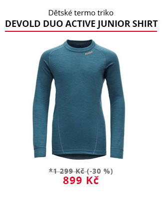 Termo Devold Duo active junior