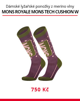 Podkolenky Mons Royale Mons Tech Cushion