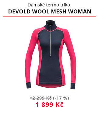 Termotriko Devold Wool mesh