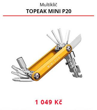 Multiklíč Topeak Mini p20