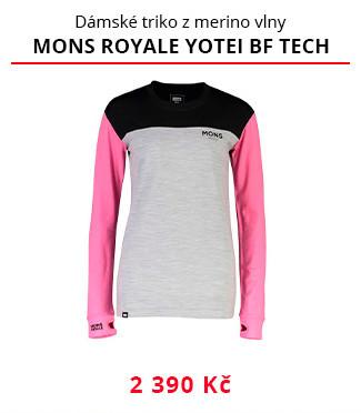 Dámské funkční triko Mons Royale Yotei