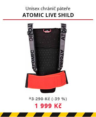 Páteřák Atomic Live shild