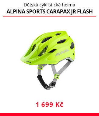 Dětská helma Alpina sports Carapax JR flash