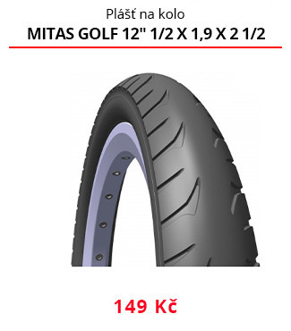 Plášť Mitas Golf 12