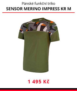 Triko Sensor Merino Impress