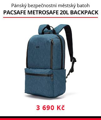 Batoh Pacsafe Metrosafe X 20L