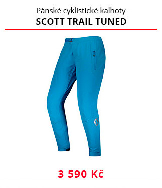 Kalhoty Scott Trail Tuned