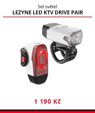 Set světel Lezyne LED KTV drive pair