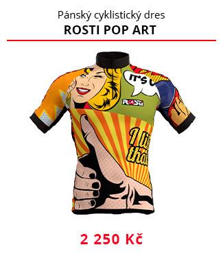 Dres Rosti Pop art