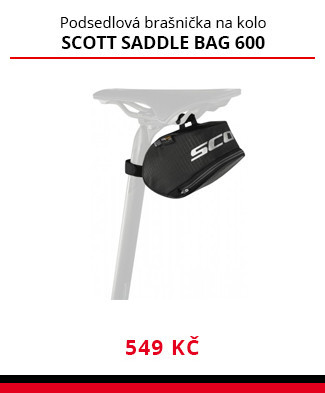 Brašna Scott Saddle bag 600