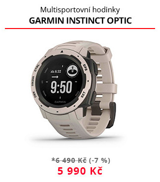 Sporttester Garmin Instinct optic