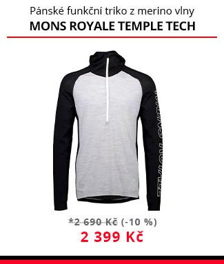 Funkční triko Mons royale Temple tech