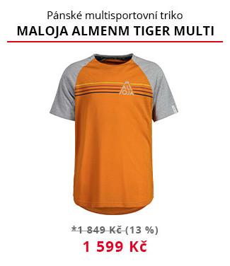 Multifunkční triko Maloja Almenm Tiger