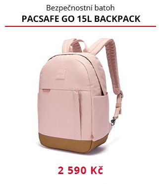 Batoh Pacsafe Go 15L