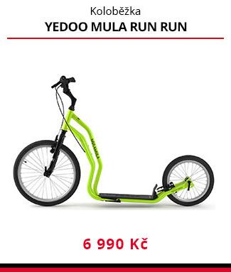 Koloběžka Yedoo Mula Run Run