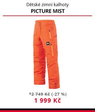Kalhoty Picture Mist JR