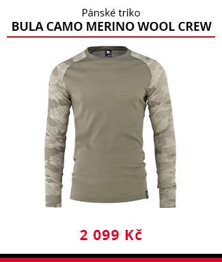 Termo triko Bula Camo merino wool