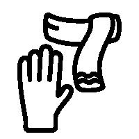 Rukavice, šátky a šály