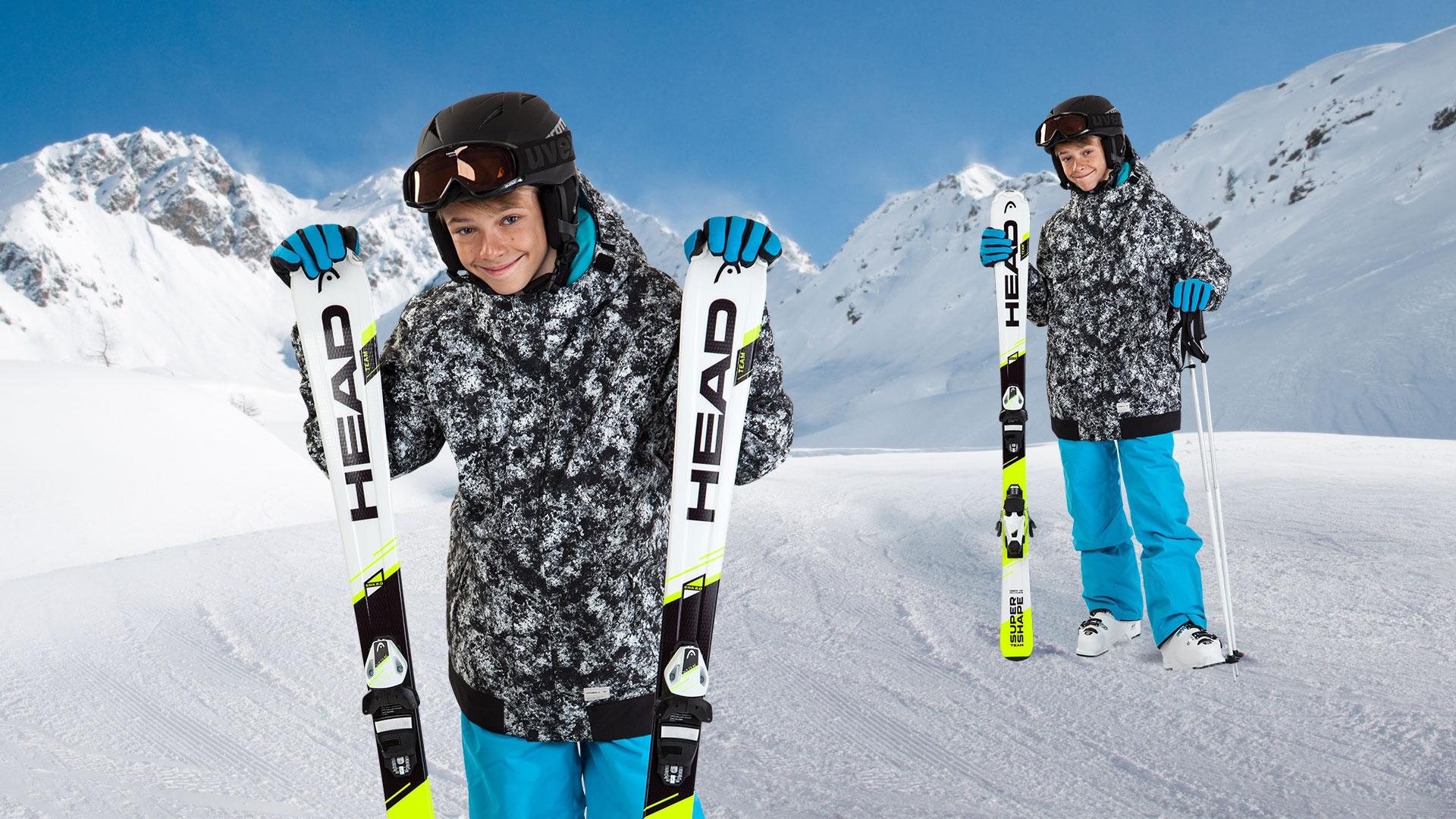 Dětský lyžařský set
