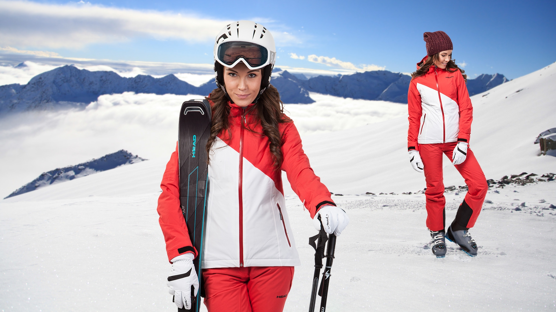 Dámský lyžařský set Head