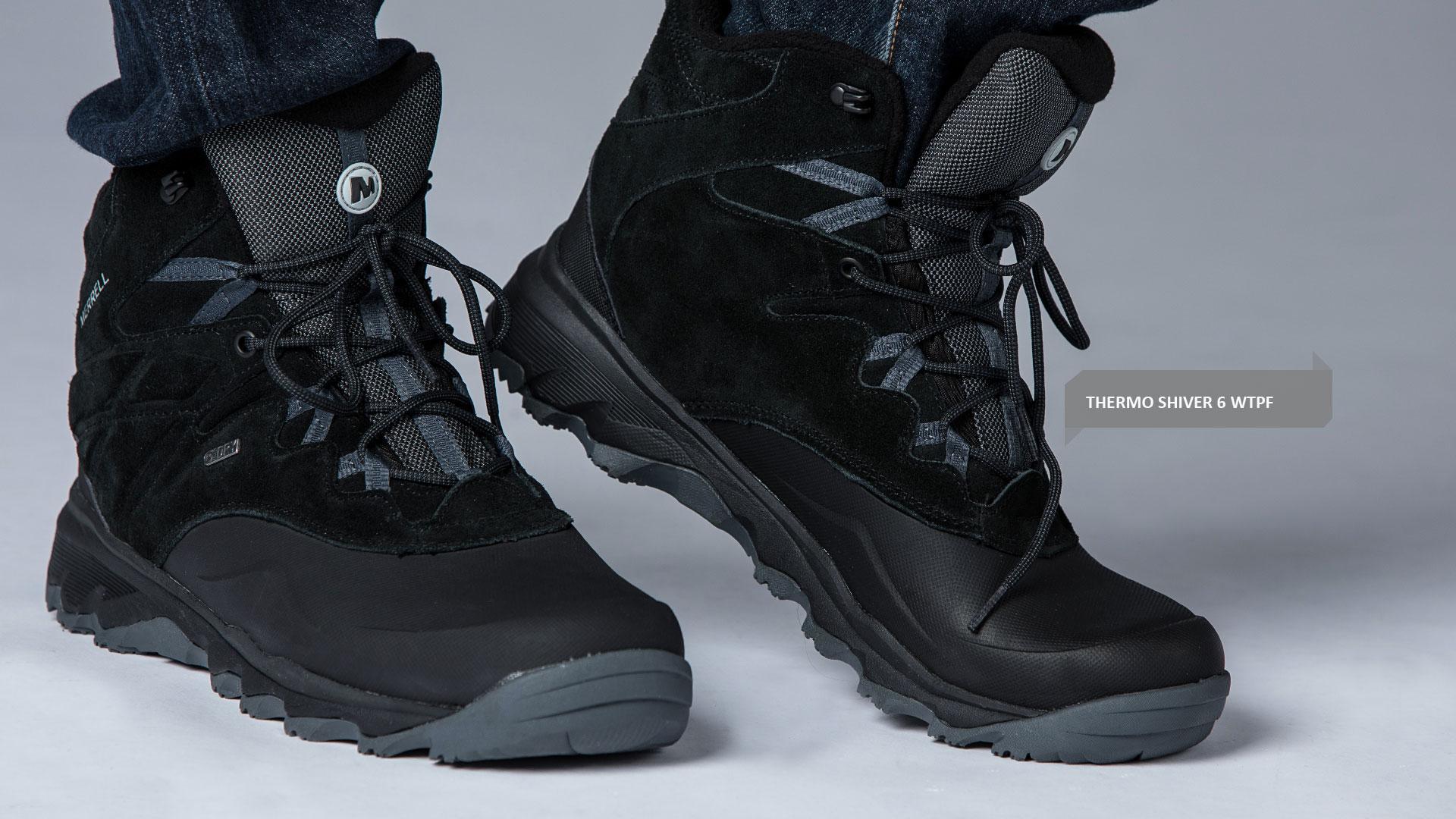 Head. Merrell THERMO SHIVER 6 WTPF - Pánské zimní outdoorové boty ef534e59d0f