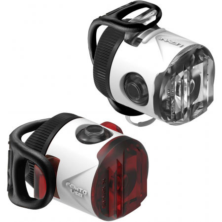 Lezyne FEMTO USB DRIVE - Sada světel na kolo