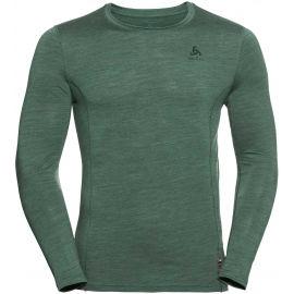 Odlo SUW MEN'S TOP CREW NECK L/S NATURAL+ LIGHT - Pánské tričko