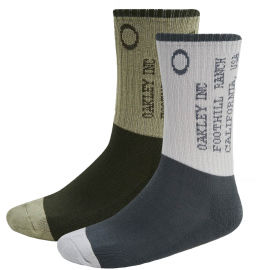 Oakley ICONIC OAKLEY SOCKS (2 PCS)