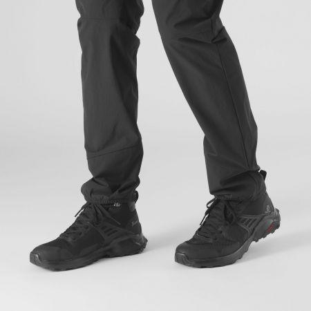 Pánská turistická obuv - Salomon X RAISE MID GTX - 4