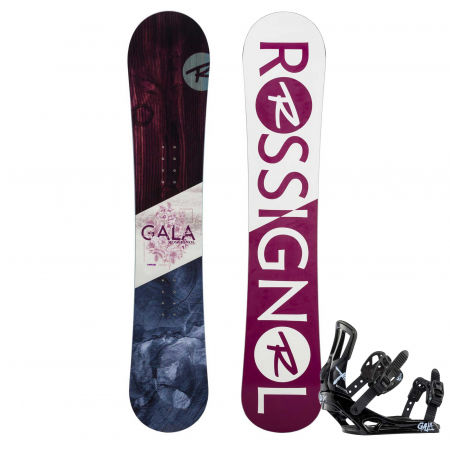 Dámský snowboard set - Rossignol GALA + GALA S/M - 1