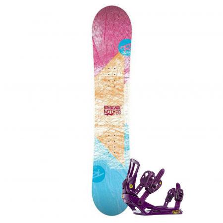 Rossignol RO MYTH LDC+MYTH S/M SET SNB - Dámský snowboard set