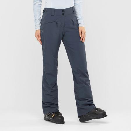 Dámské lyžařské kalhoty - Salomon EDGE PANT W - 2
