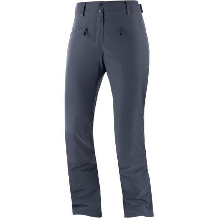 Dámské lyžařské kalhoty - Salomon EDGE PANT W - 1