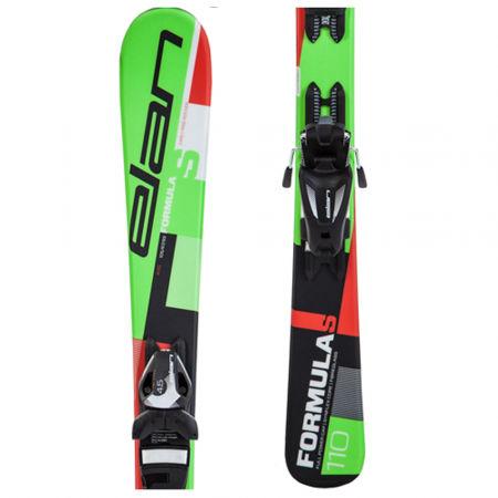 Dětské sjezdové lyže - Elan FORMULA S QS + EL 4.5 - 1