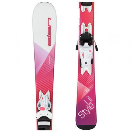 Dětská sjezdová lyže - Elan LIL STYLE QS + EL 4.5 - 1