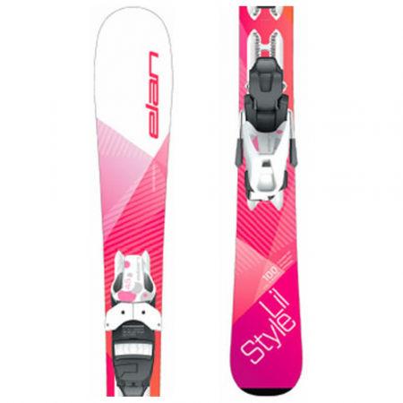 Elan LIL STYLE QS + EL 7.5 - Dětská sjezdová lyže