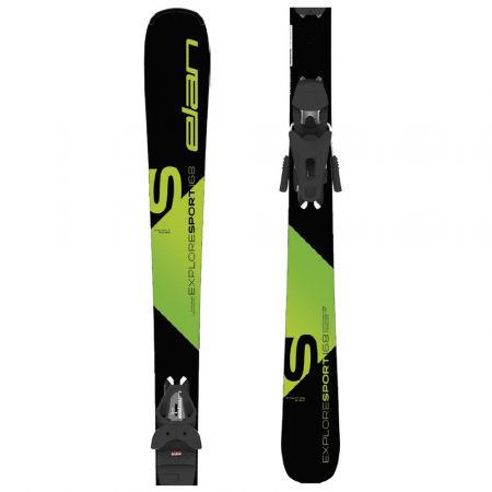 Sjezdové lyže - Elan EXPLORE SPORT LS + EL 9 - 1