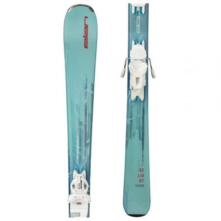 Dámské sjezdové lyže - Elan DELIGHT CHARM LS + ELW 9 - 1