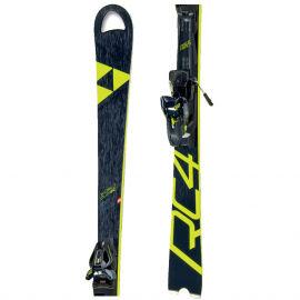 Fischer RC4 WC SC RT YELLOW BASE + RC4 Z12 PR - Sjezdové lyže