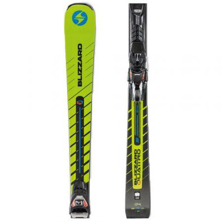 Sjezdové lyže - Blizzard QUATTRO S 76 + TPX 12 DEMO - 1