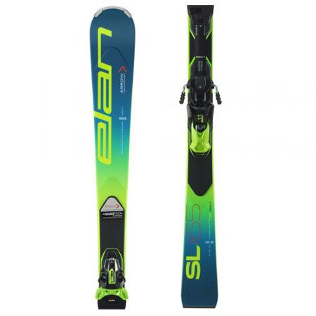 Elan SL FUSION + EMX 11 - Závodní sjezdové lyže