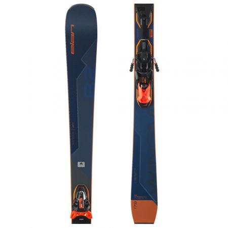 Sportovní sjezdové lyže - Elan WINGMAN 82 CTI FUSION + EMX 12 - 1
