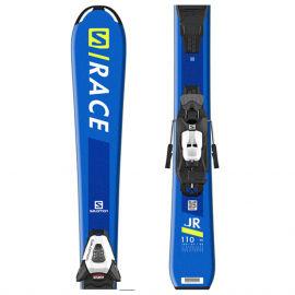 Salomon S/RACE Jr S + C5 GW - Dětské sjezdové lyže