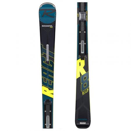 Rossignol REACT R8 HP + NX 12 KONECT GW - Pánské sjezdové lyže