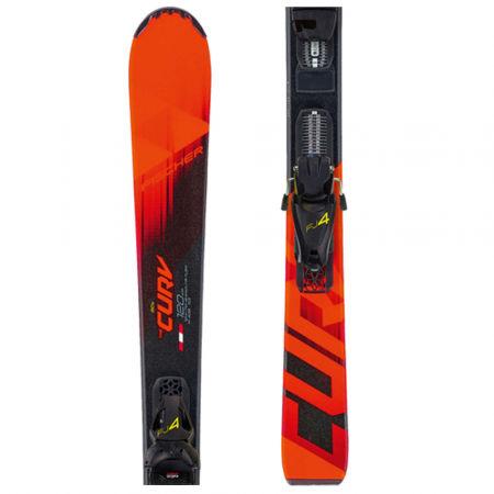 Fischer THE CURV JR SLR + FJ4 AC SLR - Sjezdové lyže