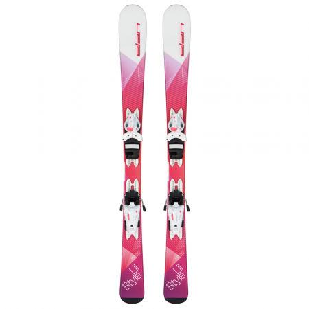 Dětská sjezdová lyže - Elan LIL STYLE QS + EL 4.5 - 2