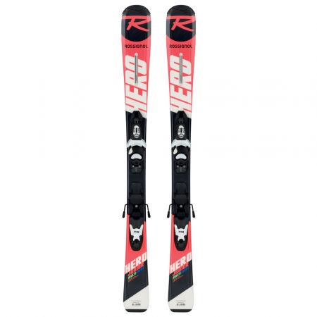 Juniorské sjezdové lyže - Rossignol HERO JR + KID-X 4 B76 - 2