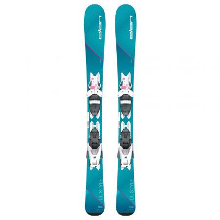 Dívčí sjezdové lyže - Elan LIL STYLE QS + EL 7.5 - 2