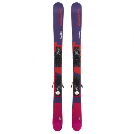 Juniorské sjezdové lyže - Elan TWIST PRO QS + EL 7.5 WB - 2